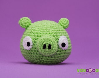 Green Angry Bird Pig