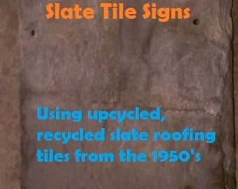 Custom sign - Personalized sign - Custom slate sign - Personalized slate sign - Custom house sign - Custom home sign - Custom slate