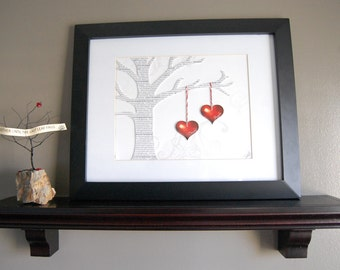 Personalized Wedding or Anniversary Gift - Wedding Song Tree - 3D