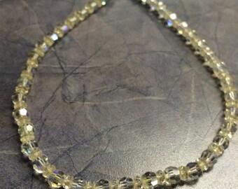 Vintage Crystal Laguna Necklace