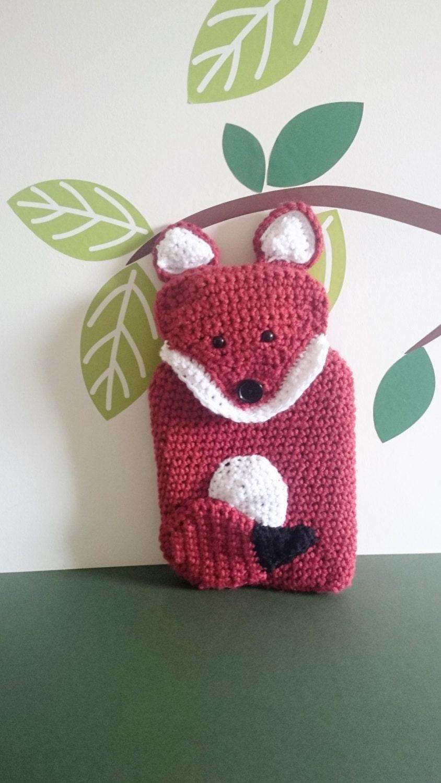 Easy Crochet Hot Water Bottle Cover Pattern Free ~ manet for .
