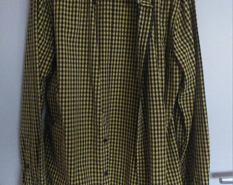 Shirt tiles yellow/black Pepe Jeans, PORTOBELLO LONDON