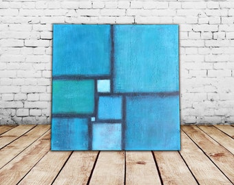 Large painting Acrylic painting Abstract Painting Abstract Art  Original painting Mid century Art  Abstract Canvas Art