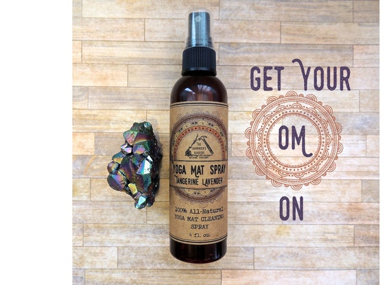 how to clean your yoga mat full moon tea tree