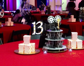 Movie Reel centerpieces (Unlimited)