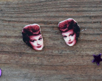 Lucille Ball I Love Lucy Earrings