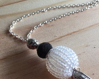 Spoon Necklace / Globe Necklace / Texture Necklace