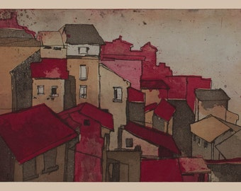 Italy - etching