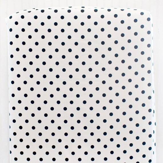 Black And White Polka Dot Nursery Bedding