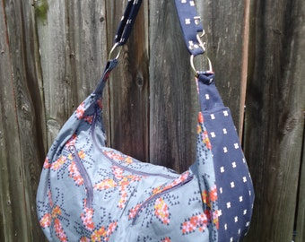 Design Your Own Sheena Hobo Bag - Custom Made to Order - You Choose the Fabrics