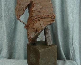 Trojan Horse Bust, Bronze Sculpture