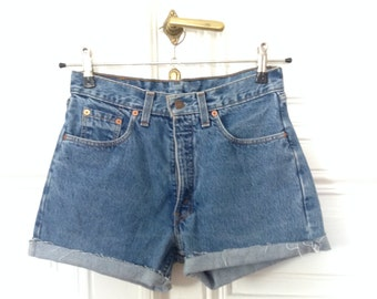 Vintage High Waisted Shorts by LEVI