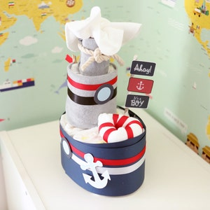 Baby Girl Boy Bassinet MINI diaper Cake Baby Shower Centerpiece
