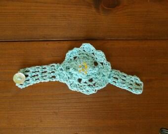 knitted bracelet needleloom
