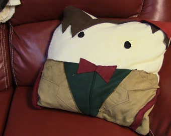 11th Doctor Character Pillow
