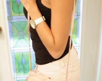party pink over-the-shoulder bag