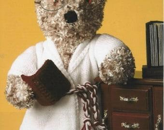 18 inch Teddy Bear Knitting Pattern PDF Download