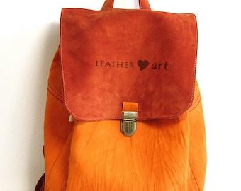 Backpack Orange