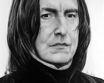 Severus Snape Drawing