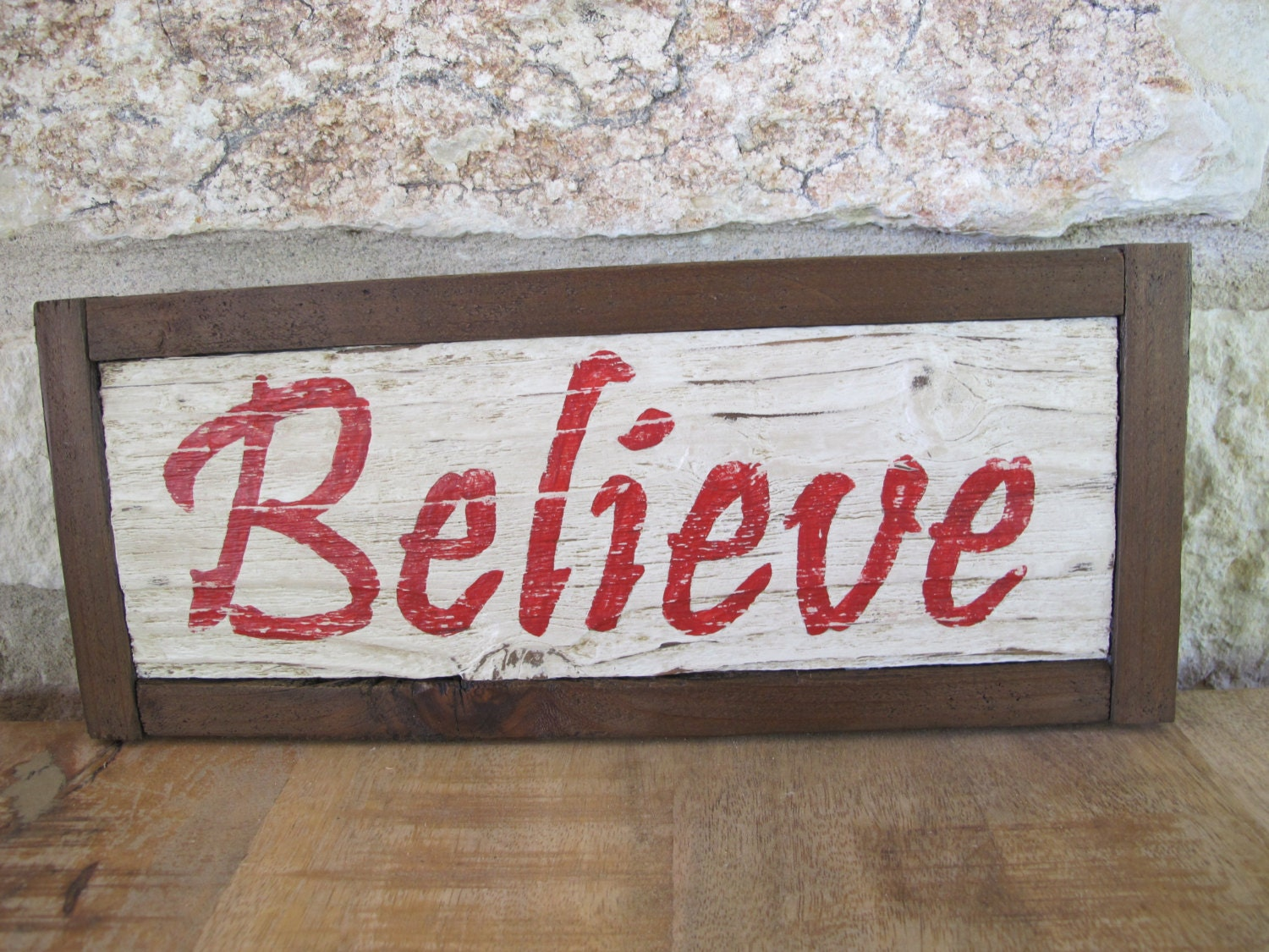 Believe Hand Made Hand Painted Vintage Look Wooden Sign. Diversion Signs Of Stroke. Mapping Signs Of Stroke. Major Stroke Signs. James Signs Of Stroke. Cellphone Signs. Symbols Signs. Tolerate Signs. Witch Signs Of Stroke
