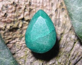 Emerald, 6,55ct Teardrop Cut