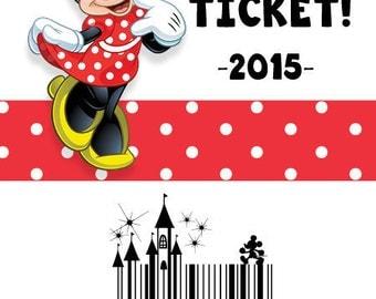Personalized Disney Tickets