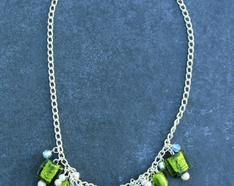 Green Hues Necklace