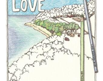 Leelanau Love ~ Color on Art Book