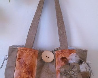 SALE!!! Was 30.99 NOW 15.99!!! Leather Tote, Handbag or Diaper Bag