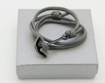 bracelet homme ancre paracorde