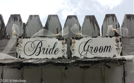 Bride and Groom. Wedding Chair Sign. Wedding Sign. Rustic Wedding. Wedding Decor. Wedding Reception. Wedding Ceremony. Photo Props.