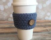 Crochet Coffee Cozy Sleeve