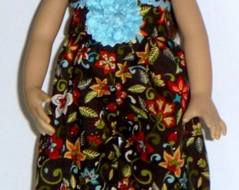 Effner Little Darling Doll Autumn Romance Romper With Headband  By TnTCreations