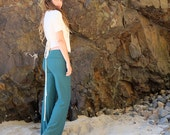 ORGANIC Stretchy Simplicity Pant ( light hemp and organic cotton Lycra ) - organic pants