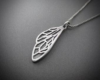 Handmade Sterling Silver Charm - Honeybee Wings