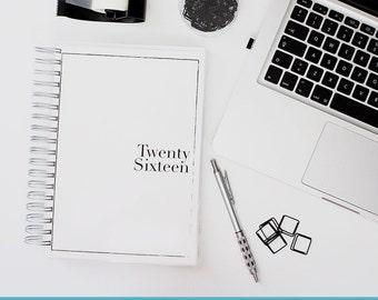 2016 Day Planner w/ Study Plan - Plain