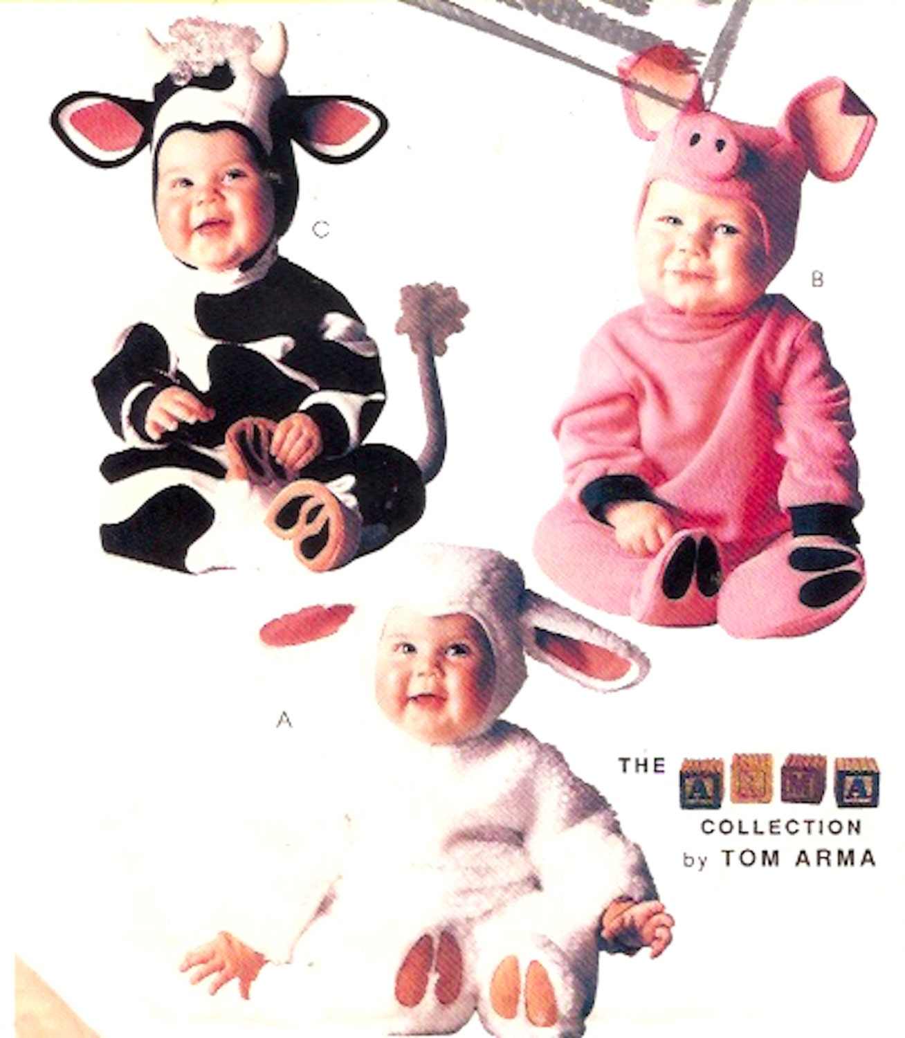 Cow Pig Lamb Toddler Halloween costume Adorable baby outfits
