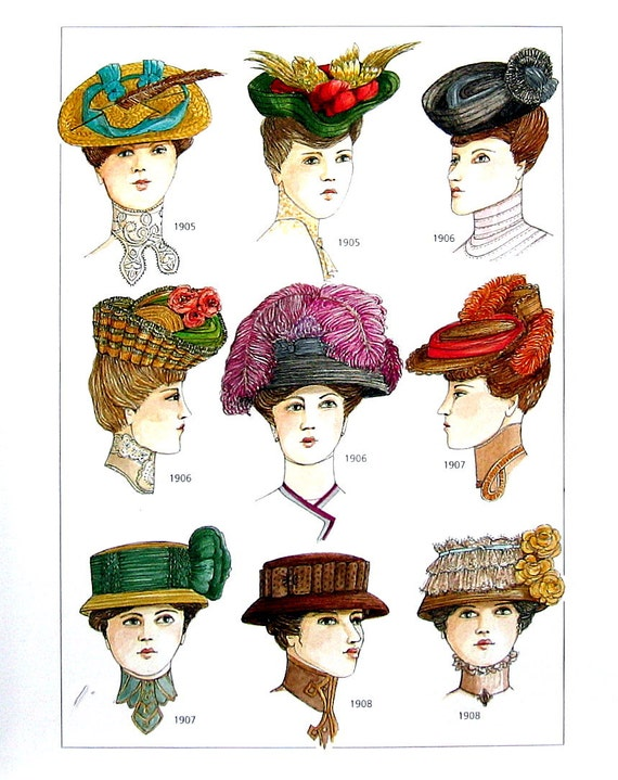 early 1900s fashion hats - photo #29