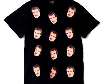 Black I love Tom Selleck T-Shirt