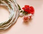 Natural vine crown, Woodland wedding, Bridal accessory, Rustic headpiece, Bridal hair circlet - PLAIN JANE
