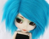 Pullip wig Turquoise fur MonstroDesigns