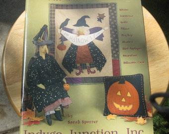 Indygo Junction - All Hallow's Eve Craftbook - Sarah Sporrer