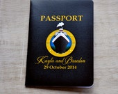 Passport Wedding Invitation Design Fee (Cruise Ship Theme)