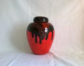 Ceramic Handmade Keepsake Urn or Pet Urn