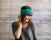 The Hazel + Chunky Knit Turban Headband +  Made to Order
