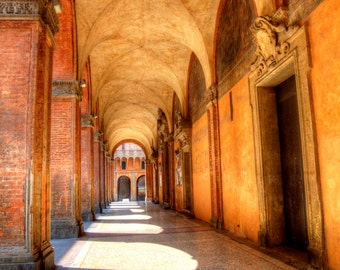 "Collection of 5 Fine Art Photographs on Canvas or Print: ""Streets of Italy"", Bologna, Venice, Genova, Lucca, Verona"