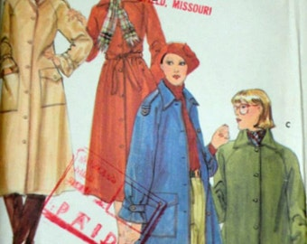 Vintage 70's Butterick 5078 Sewing Pattern, Misses' Coat And Jacket, Size 14, 36 Bust, Uncut Factory Folded