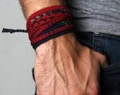 Mens Bracelet, Wrap Bracelet, Mens Jewelry, Jewelry, Bracelets, Men Bracelet, Bracelet For Men, Bracelets For Men, Gift, For Him, Gift Ideas