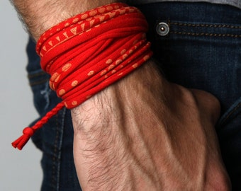 Mens Bracelet, Gift For Men, Bracelet, Wrap Bracelet, Mens Jewelry, Bracelet for Men, Bracelets, Men Gift, Tribal, Mens Gift, Gift Ideas