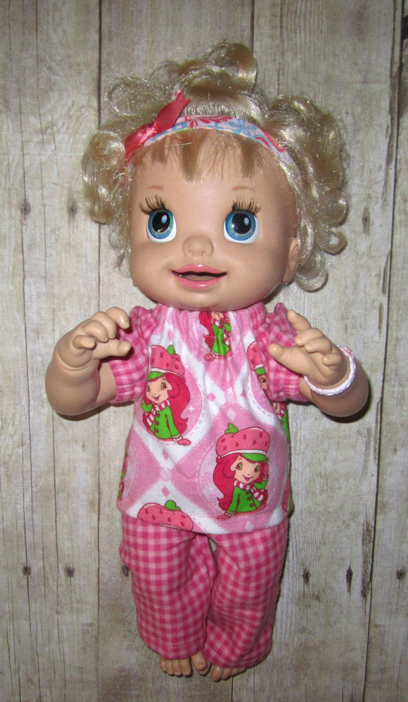 Real Baby Alive Doll Clothes Snakin Sara Strawberry Shortcake